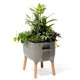 hochbeet aus verzinktem stahl. Black Bedroom Furniture Sets. Home Design Ideas
