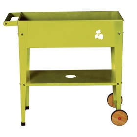 Hersteras Urban Garden Trolley 75x35x80 lime green