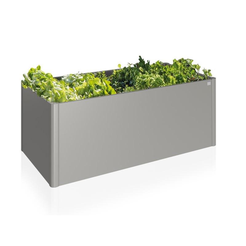 Hochbeet Biohort Metal Biohort Hochbeet 2x1m Grau