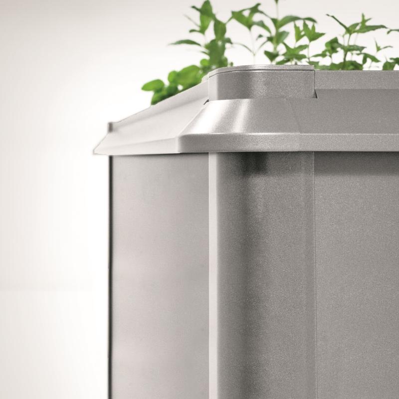 Hochbeet Biohort Metal Schneckenschutz Fur Biohort Hochbeet 2x1m Grau